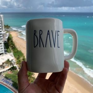 Rae Dunn 'BRAVE' coffee mug *NEW*